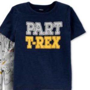 Carter's Part T-rex T-shirt